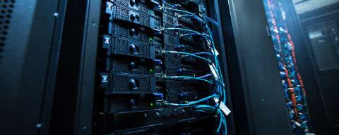 a hosting server